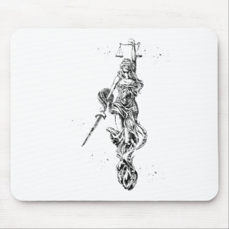 Lady Justice Mouse Pad
