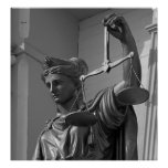 Lady Justice, Virginia City Poster