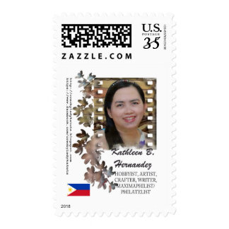 Lady Katutz Photo Stamp Design 2.