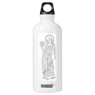 Lady Knight Aluminum Water Bottle