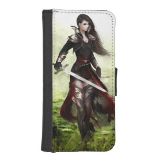Lady Knight iPhone SE/5/5s Wallet Case