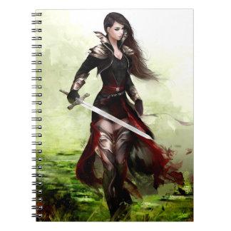 Lady Knight Note Books