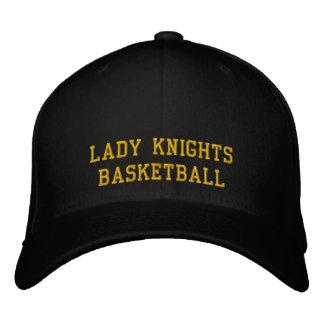 Lady Knights Basketball Embroidered Baseball Hat