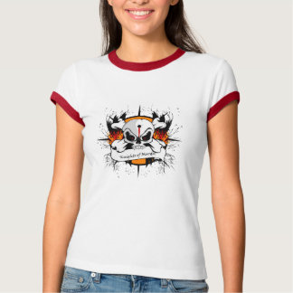 Lady Knights Ringer T T-Shirt