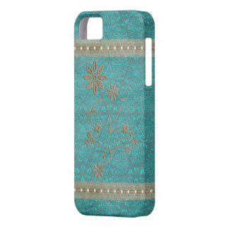 Lady Lace & Pearls Vintage Print iPhone 5 Cover