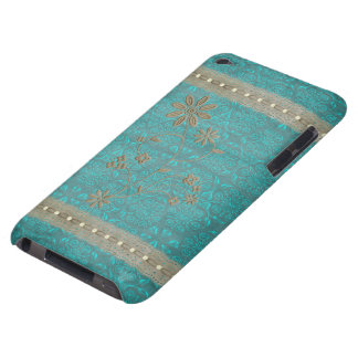 Lady Lace & Pearls Vintage Print iPod Touch Barely There iPod Cover