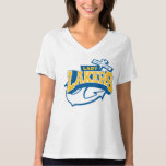 Lady Laker v neck T-Shirt