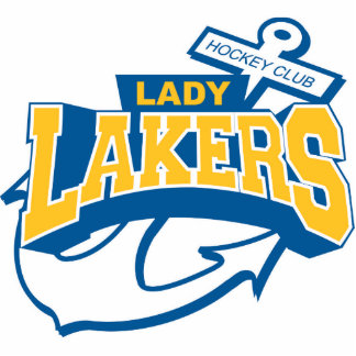 Lady lakers standing photo sculpture