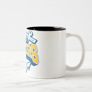 lady lakers Two-Tone coffee mug