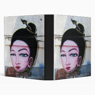 Lady Lao Graffiti Street Art Binder
