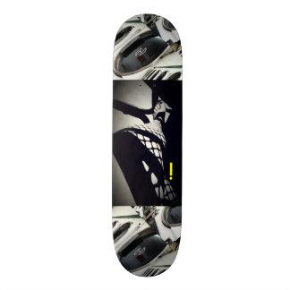 LADY LEG BLACK & WHITE GRAPHIC SKATEBOARD