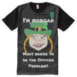 Lady Leprechaun Gets Arrested - Your Name All-Over-Print Shirt