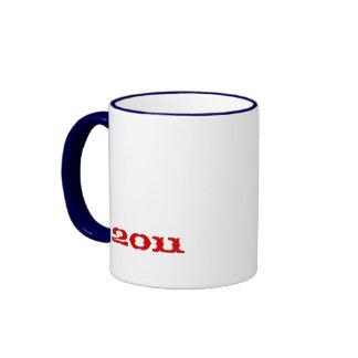 """""""Lady Liberty 2011"""" Ringer Mug"""