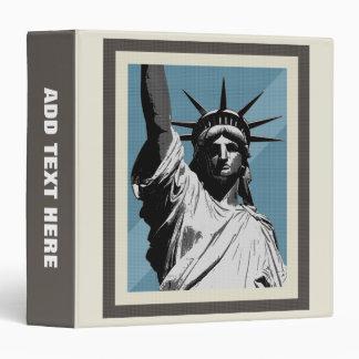 Lady Liberty 3 Ring Binder