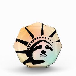 Lady Liberty Acrylic Award