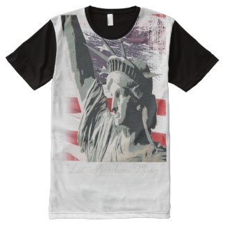 lady liberty All-Over-Print shirt
