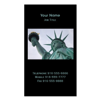 Lady Liberty Business Cards