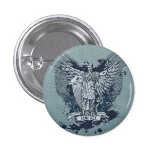 Lady Liberty Button Pinback Button