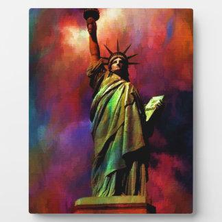 Lady Liberty C.jpg Plaque