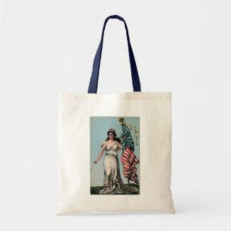 Lady Liberty Canvas Bag