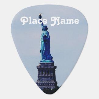 Lady Liberty Guitar Pick