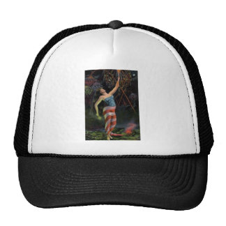 Lady Liberty In Flag Trucker Hat