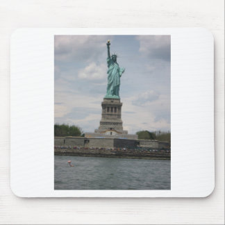 Lady Liberty in the Harbor Mouse Pad