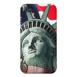 lady liberty iPhone 4 cover