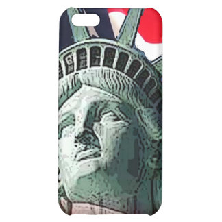 lady liberty cover for iPhone 5C