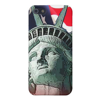 lady liberty iPhone 5 cover