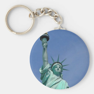 Lady Liberty Keychain