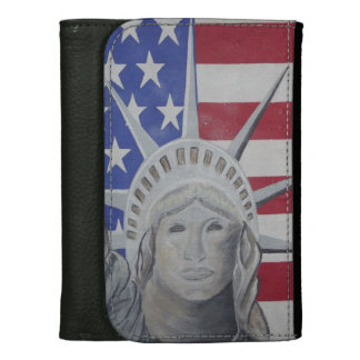 Lady Liberty Leather Wallets