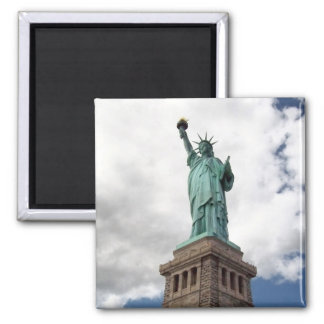 Lady Liberty 2 Inch Square Magnet