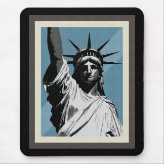 Lady Liberty Mouse Pad