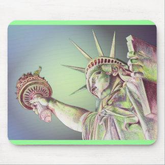 Lady Liberty Mouse Pads