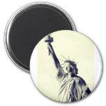 Lady Liberty - New York City Iman Para Frigorífico