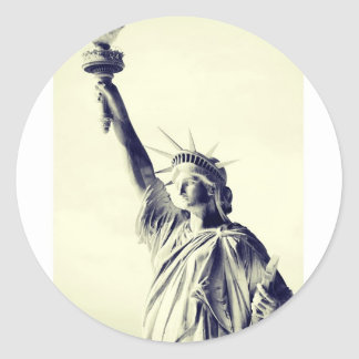Lady Liberty - New York City Pegatinas