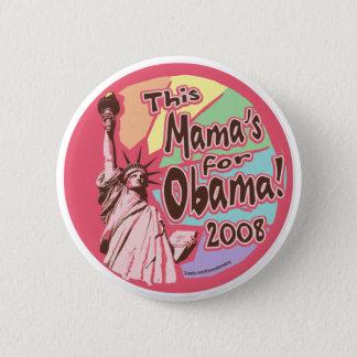 Lady Liberty Obama Mama Button