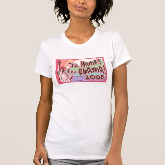 Lady Liberty Obama Mama Shirt