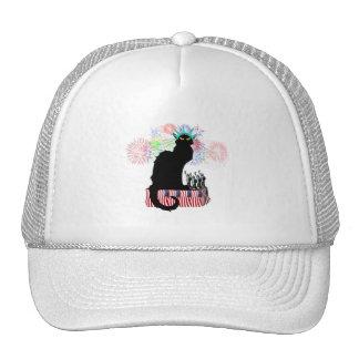 Lady Liberty - Patriotic Le Chat Noir Trucker Hat