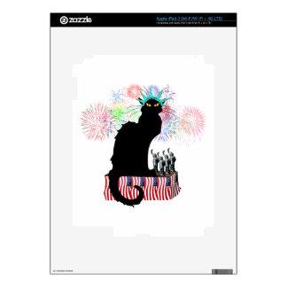 Lady Liberty - Patriotic Le Chat Noir iPad 3 Skins