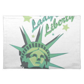 Lady Liberty Cloth Placemat