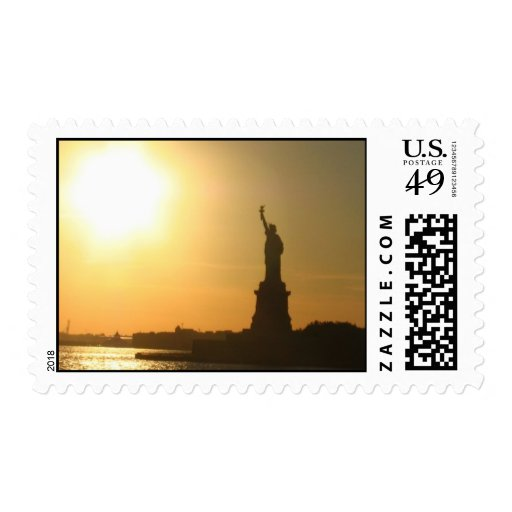 Lady Liberty Postage Stamp