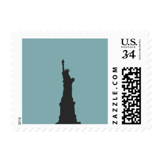 Lady Liberty Postage Stamp