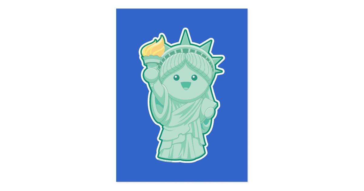 Lady Liberty Postcard Zazzle Com