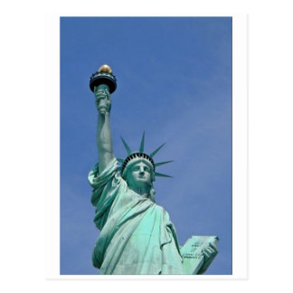 Lady Liberty Postcard