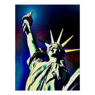 Lady Liberty Posters