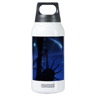 Lady Liberty Shooting Stars 10 Oz Insulated SIGG Thermos Water Bottle