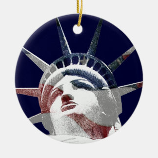 Lady Liberty Template Christmas Tree Ornaments