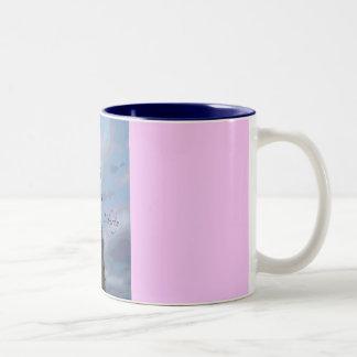 Lady Liberty Two-Tone Coffee Mug